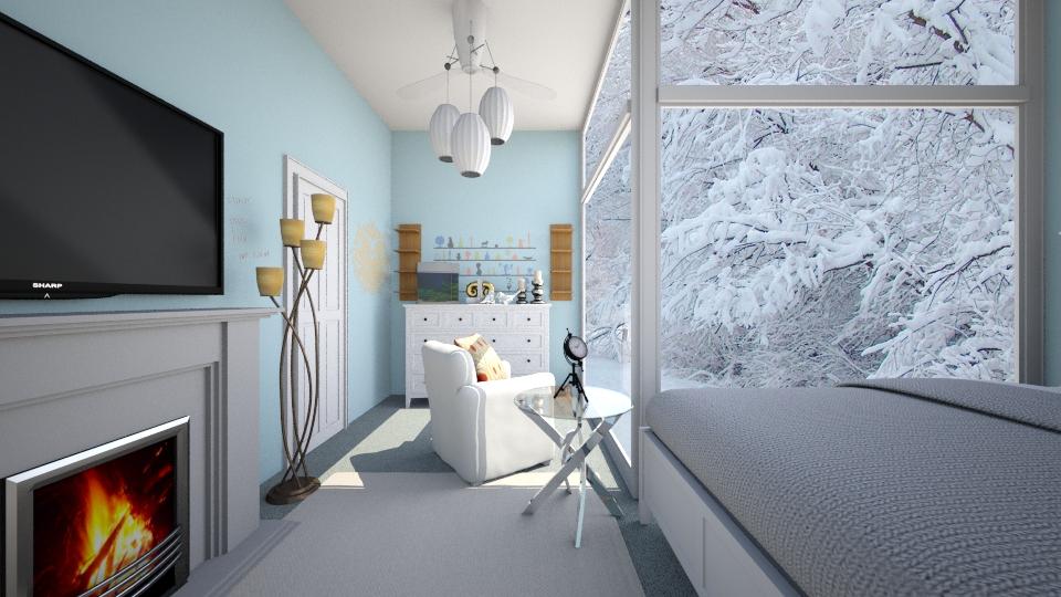 wonderland - Bedroom - by ebonee