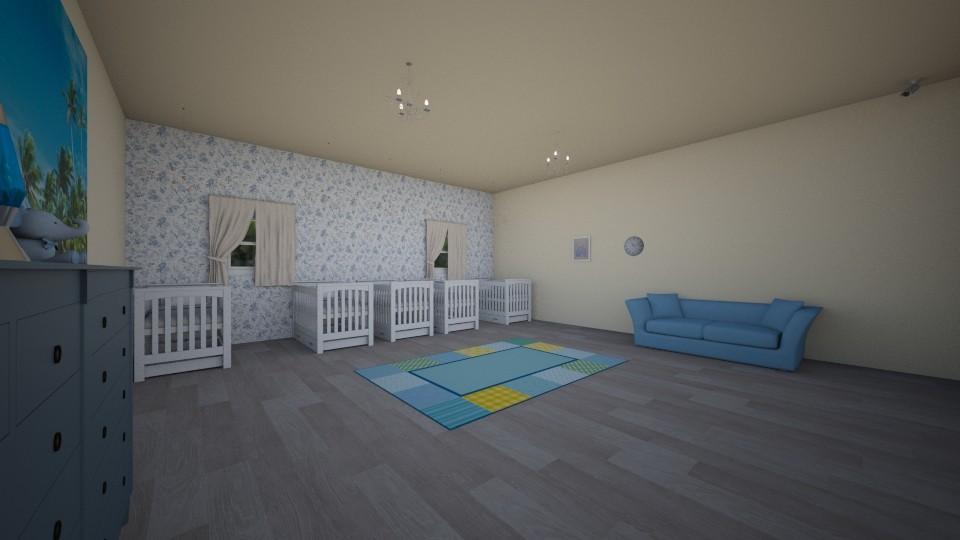 over the rainbow nursery - Kids room - by malzaabi765