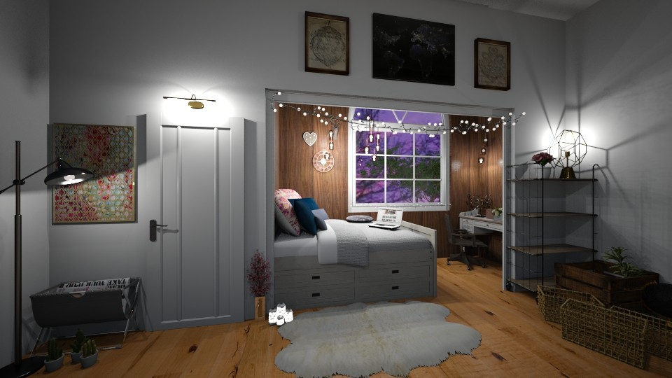 bedroom - by belavgeny