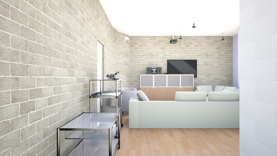 KamanisHouse - Modern - Living room - by Everybodyloveskm