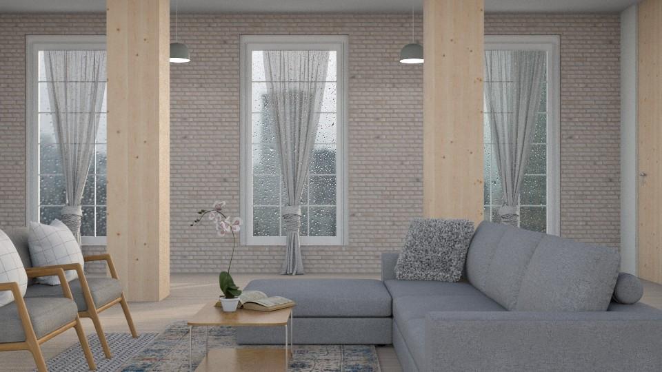 l o f t - Living room - by Kelli Mallory