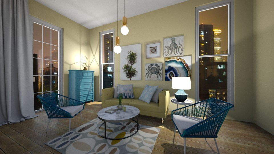 MODERN N - Living room - by ivanina666