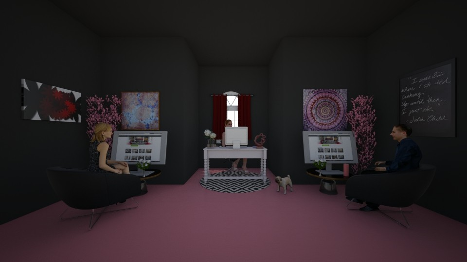 sims people office - Office - by laneciathomas