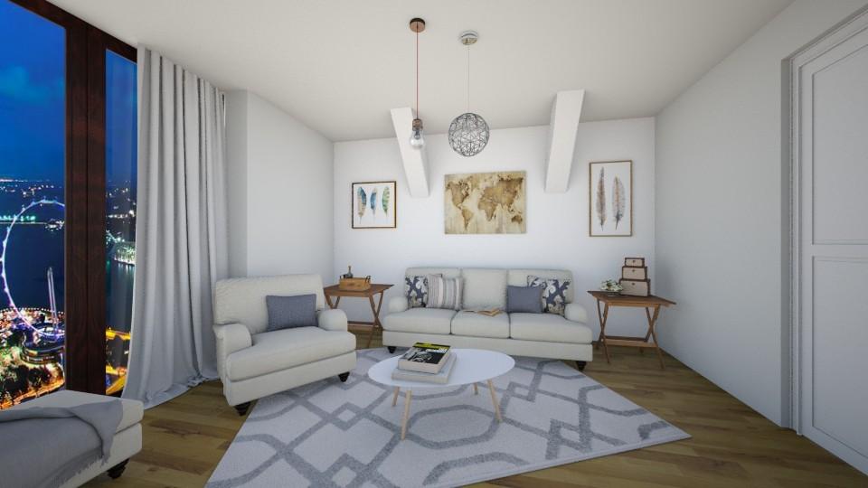 Living Room - Living room - by CatLover0110