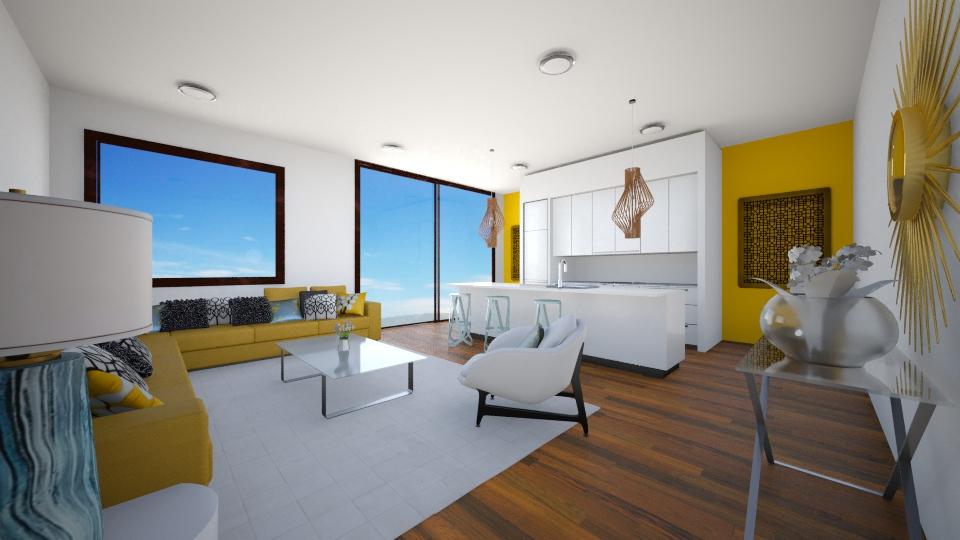 yellow - Living room - by Iren89