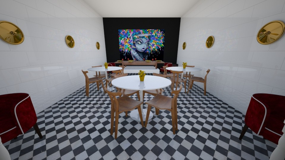 Restaurant - Eclectic - Dining room - by Sion Zsolt Szondi