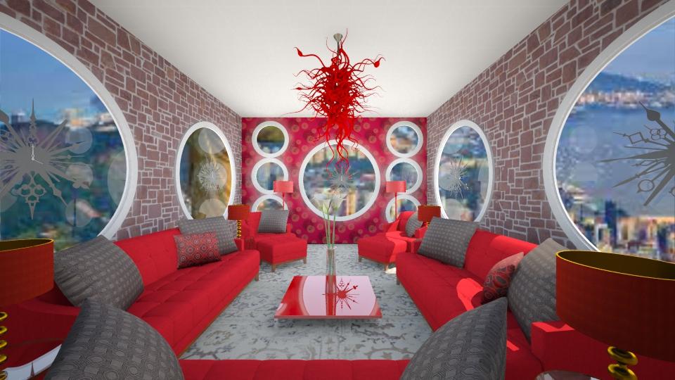 sala do relogio - Living room - by marcela tamires