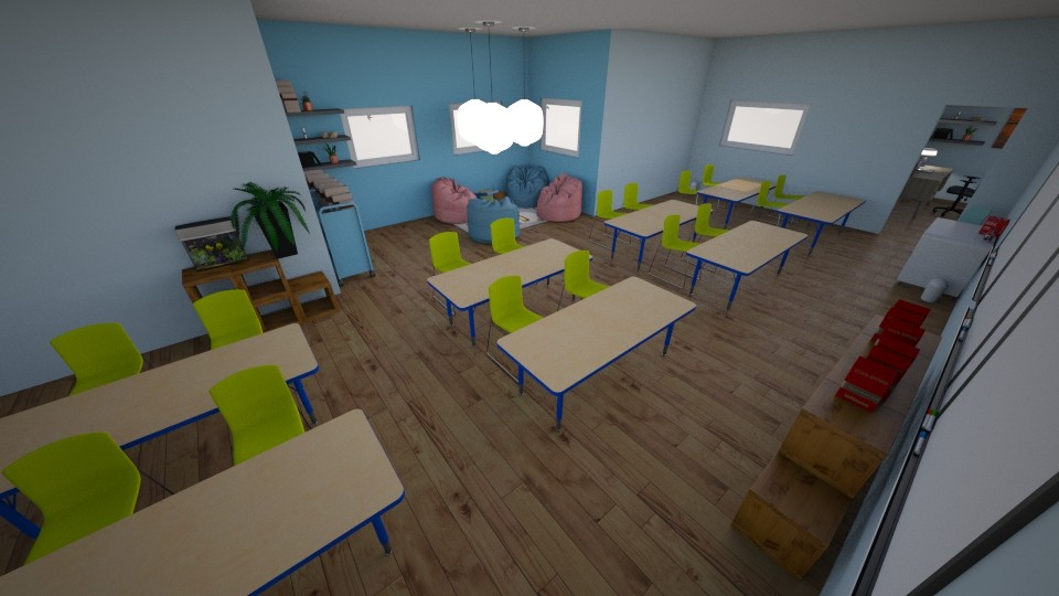 French School Room - by Designs by Hailey