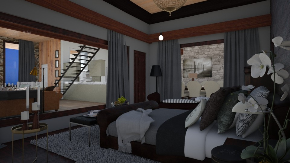 rowhouse perspective nama - Classic - Bedroom - by Kristely