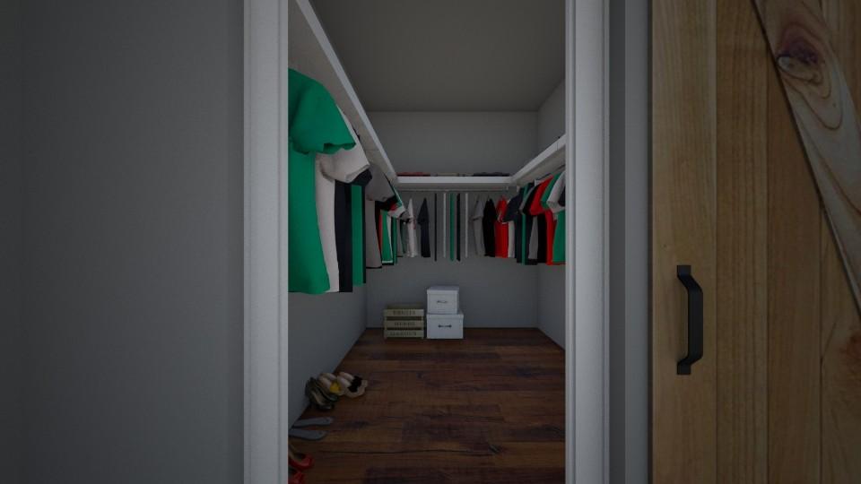 Master Bedroom Closet - Bedroom - by BrynnWisse