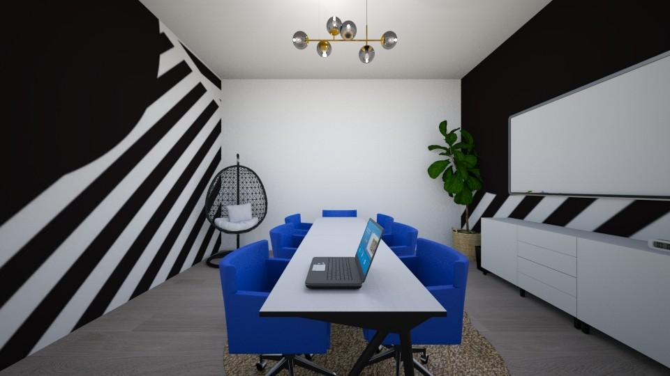 OFFICE BLACK 3 - by blanktobold