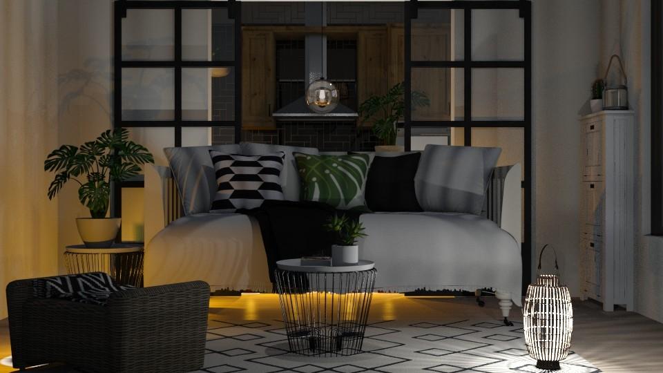 Nordic - Modern - Living room - by Dayanna Vazquez Sanchez