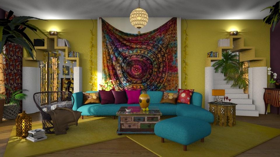 Boho Room - by ZsuzsannaCs