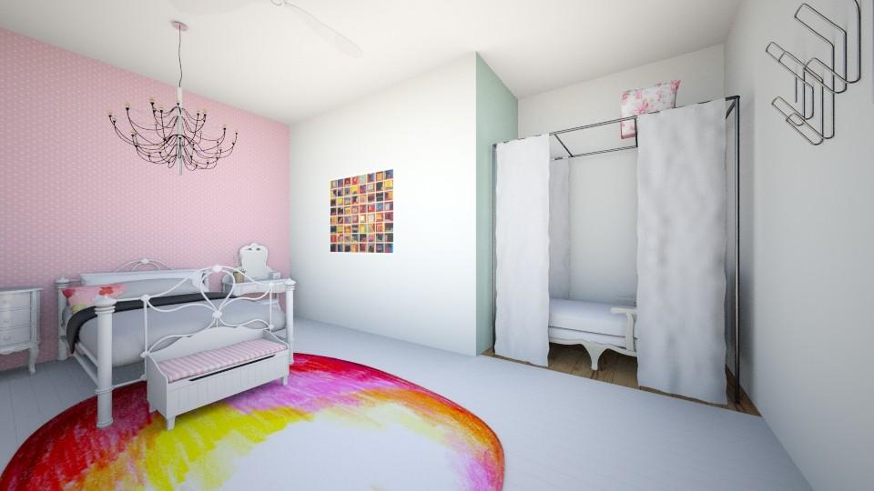 the girls bedoom - Kids room - by LuanaSoaresDesigns