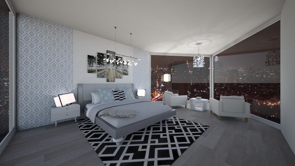 Madisons Modern Bedroom - Modern - Bedroom - by GinnyGranger394