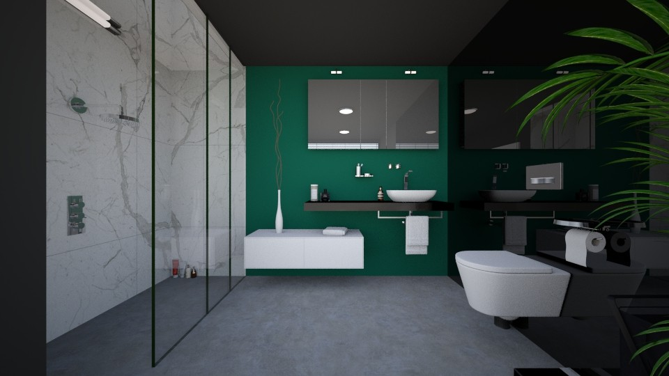 Antoinette - Modern - Bathroom - by agnieszka_giez