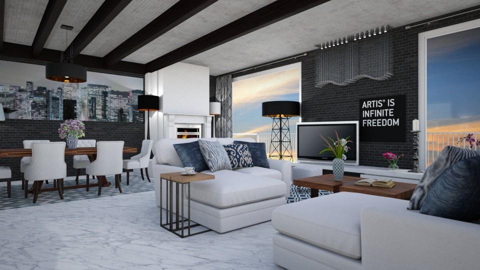 room - Modern - Living room - by mari mar