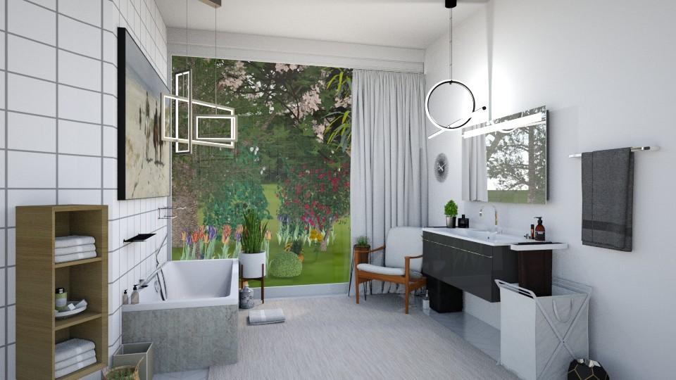 Small Bathroom 2 - Modern - Bathroom - by Isaacarchitect