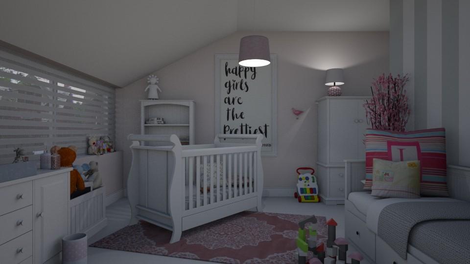Nursery - Feminine - Kids room - by Annathea