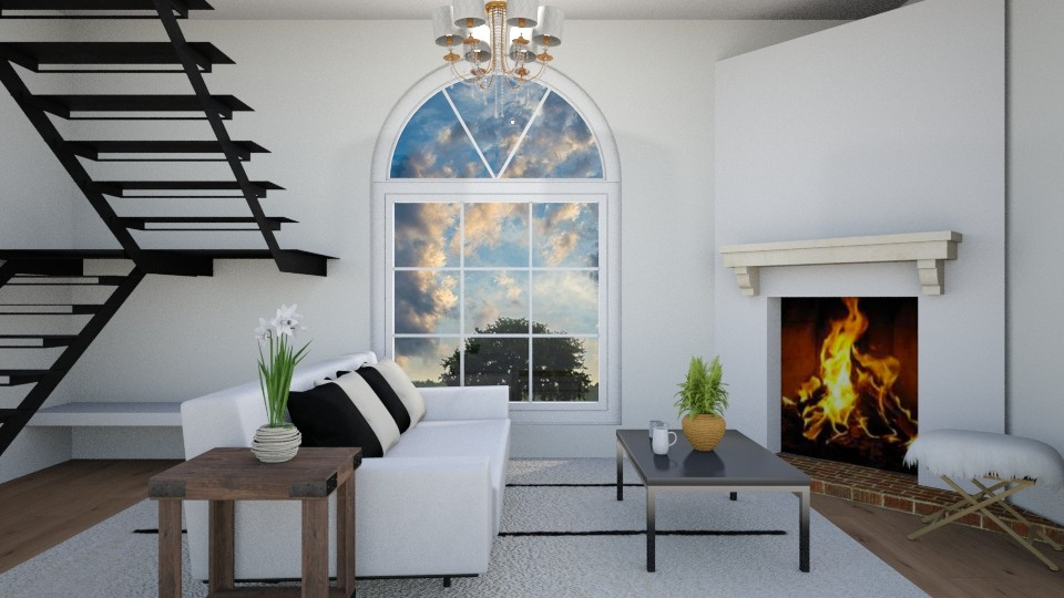 Modern - Living room - by Crazy cat girl 10