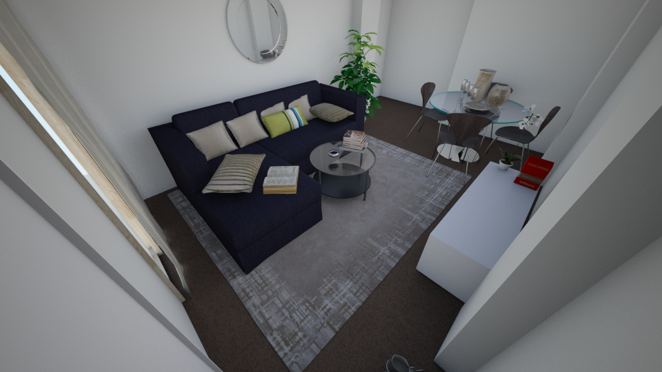 Jimmy apartment - Living room - by evanemeti