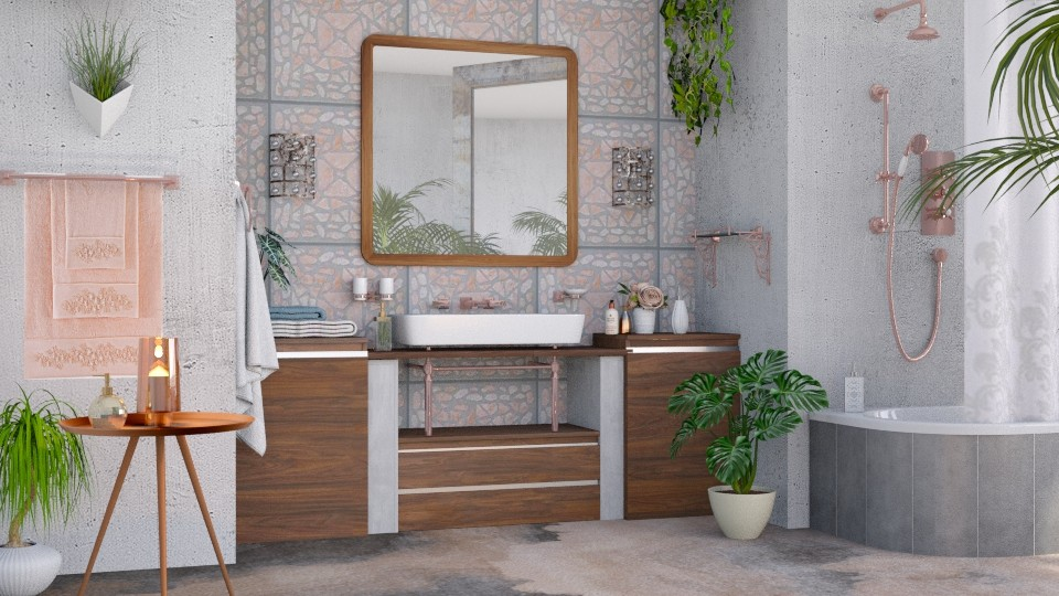 M_U J Bathroom - Bathroom - by milyca8
