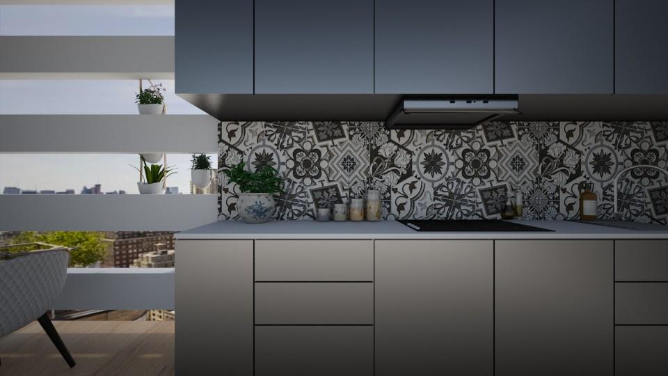 Kitchen nook - by F T