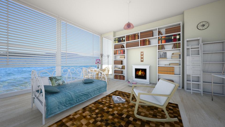 Летняя комната для чтения - by Polya_Nikols