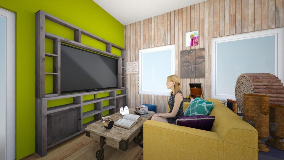sofia - Living room - by Rochy Ramirez