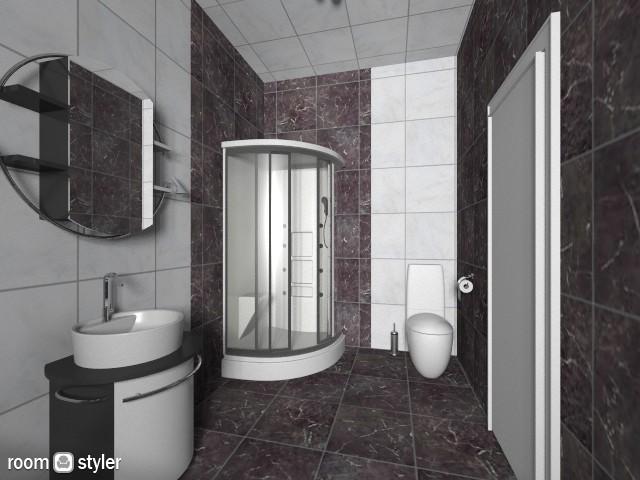 bathroom - Retro - Bathroom - by irina 74