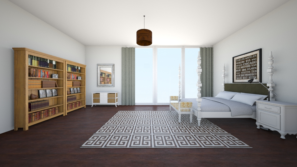 Skyling Series VI - Rustic - Bedroom - by can264
