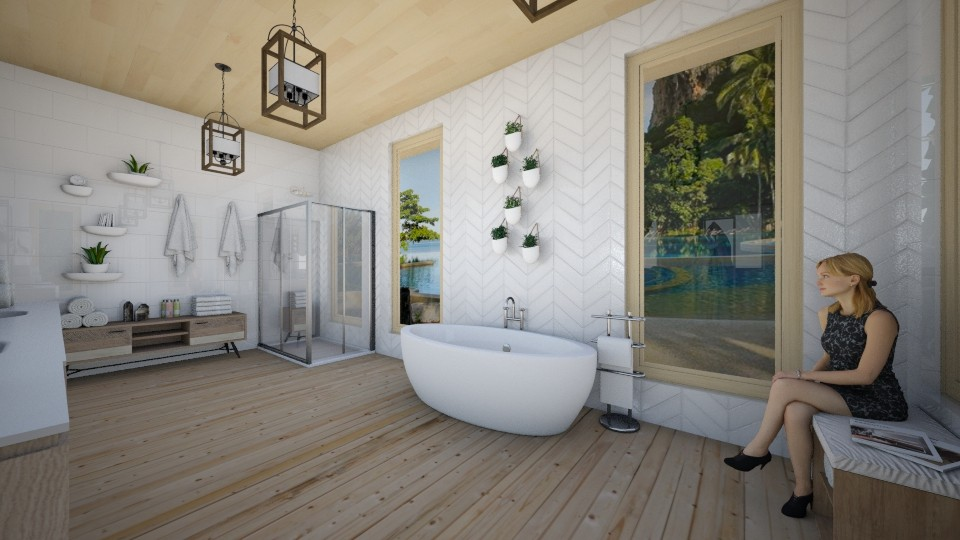 Thai Spa Bath 5 - Bathroom - by niidurose