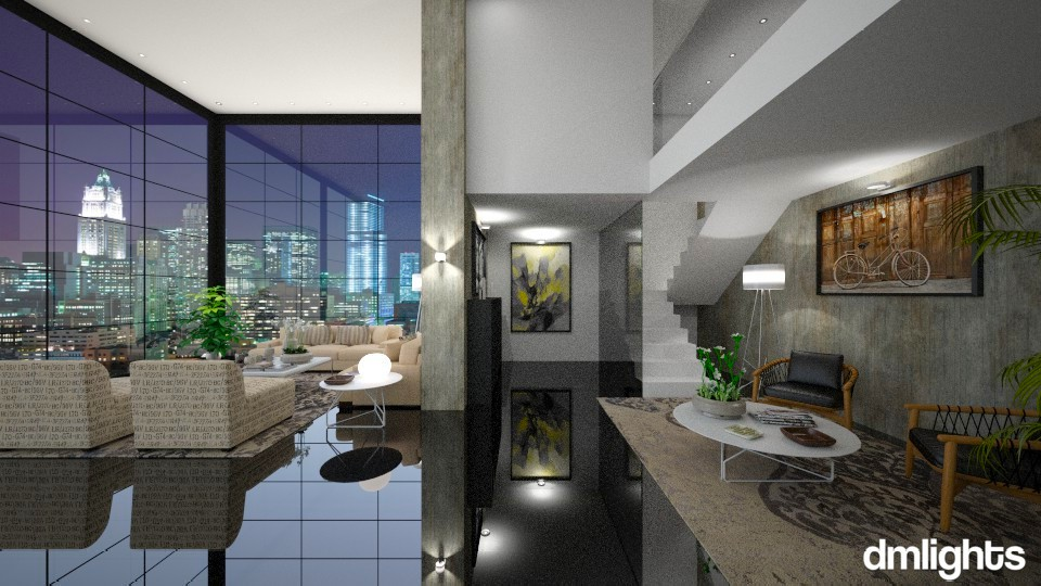 Mannahatta - Modern - Living room - by Claudia Correia
