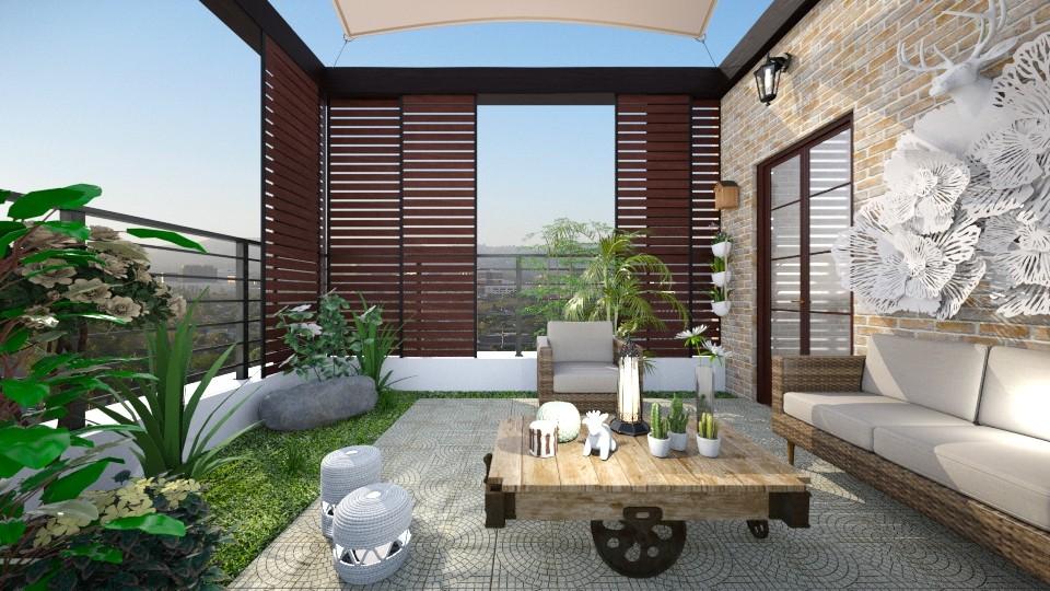 terracee - Garden - by Isabella_Palmeri