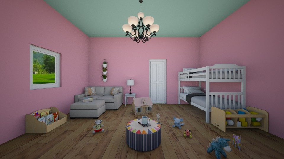 toddler room - Kids room - by stholstrom