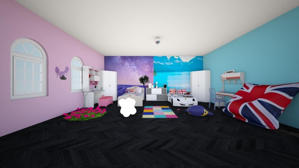 Disneyland - Kids room - by kotki