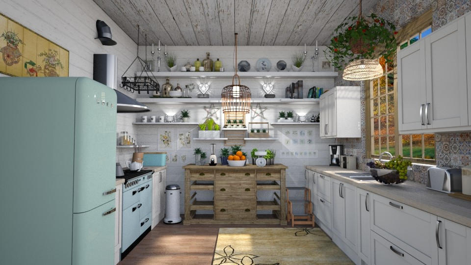 Boho Kitchen - by  krc60