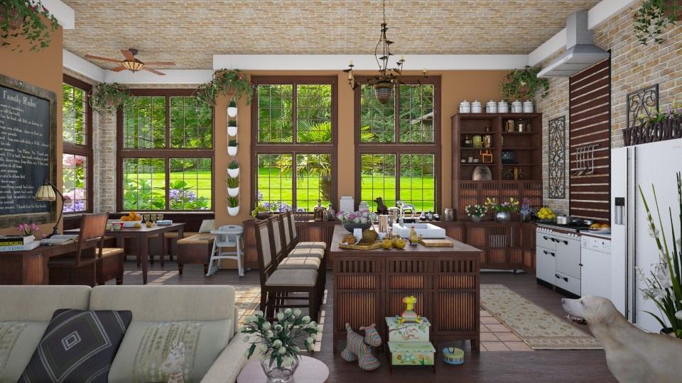 Design 68 Family Kitchen - Kitchen - by Daisy320