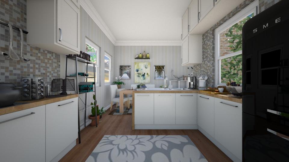 Country Kitchen - Kitchen - by Jodie Scalf