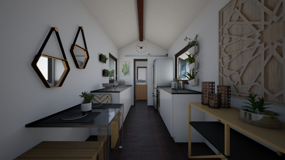 Tiny Home Kitchen - Kitchen - by kitkat152