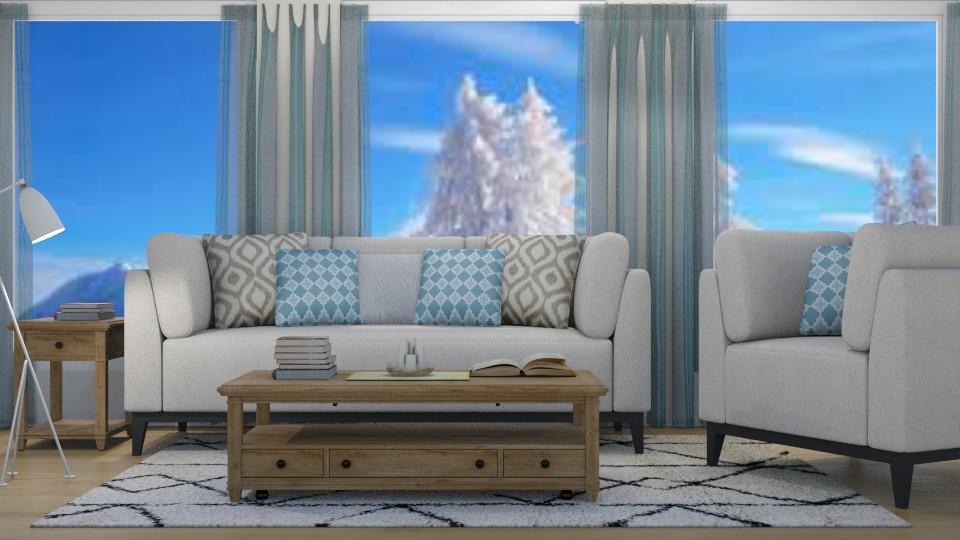 Cozy Living Room - Rustic - Living room - by millerfam