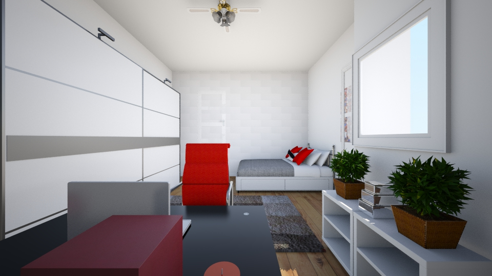my room - Modern - Bedroom - by Martyna898