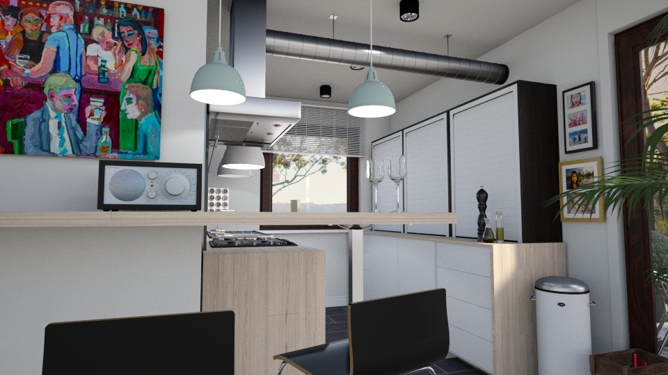2ikebana - Kitchen - by hauser
