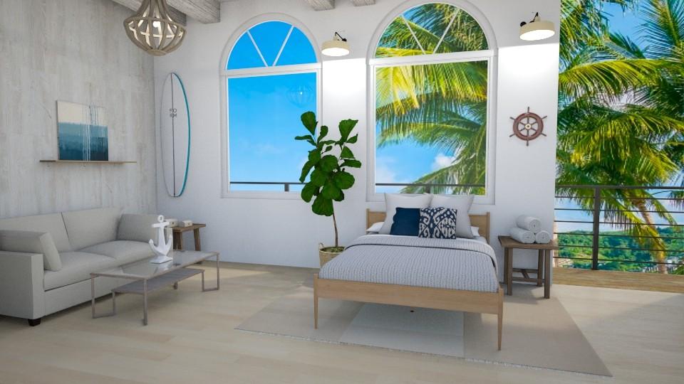 Nautical Bedroom - Bedroom - by seasidepine
