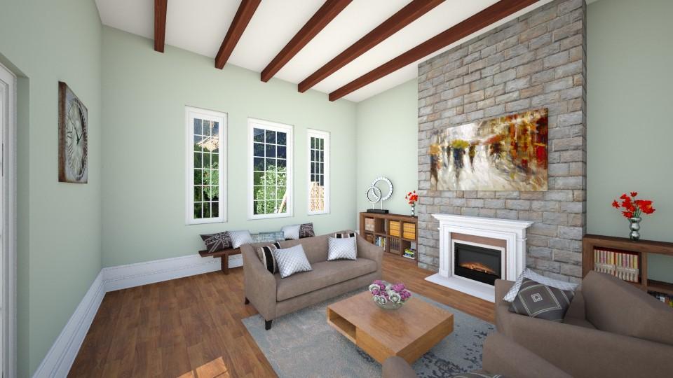baita - Living room - by safihya88