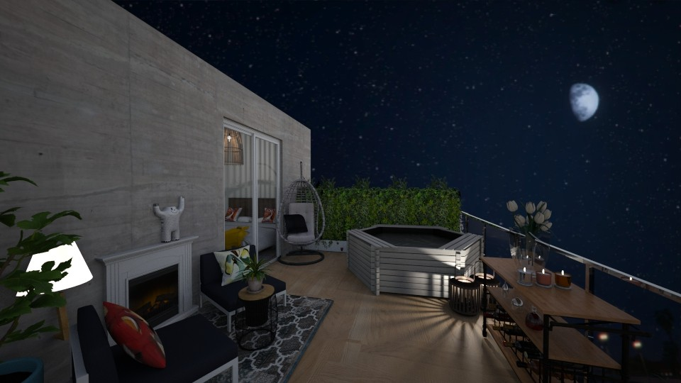 balcony - Eclectic - by abbysrooms
