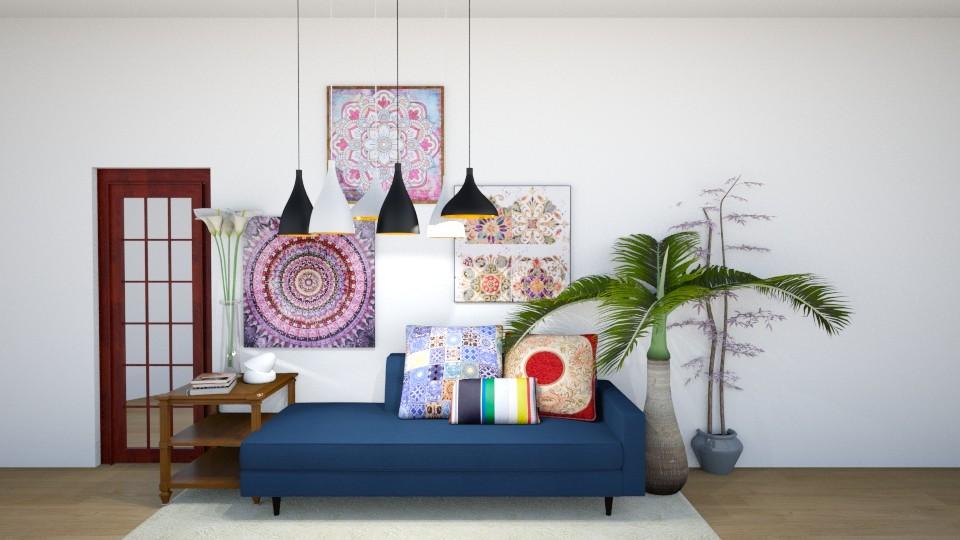 Modern Bohemian Hangout - by delaaaaney