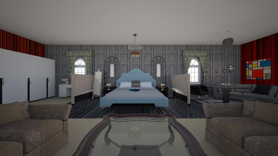 hotel room 2 - by Noahvandebosch