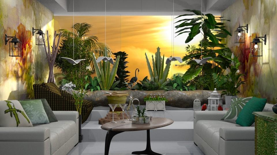 Green Room - Bathroom - by marocco