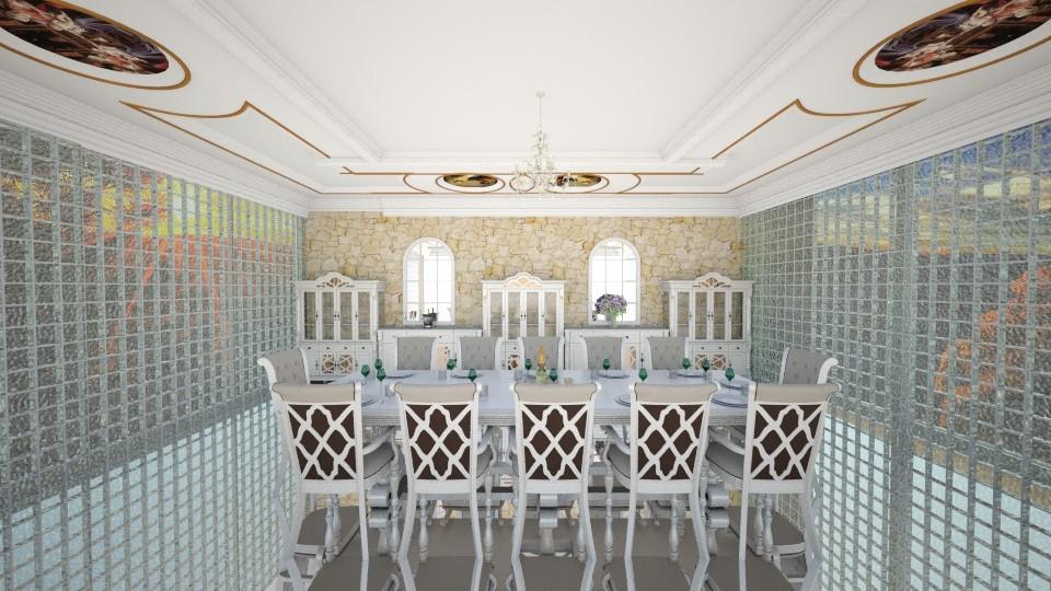 mi - Dining room - by jujusinha